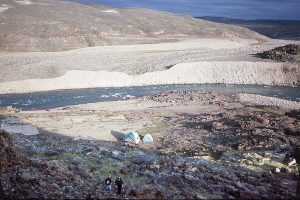 First Camp Site beside the Freshney River