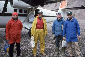 Isortoq2 canoe team