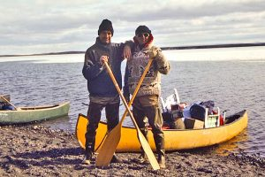 OK Canoe ready for action,