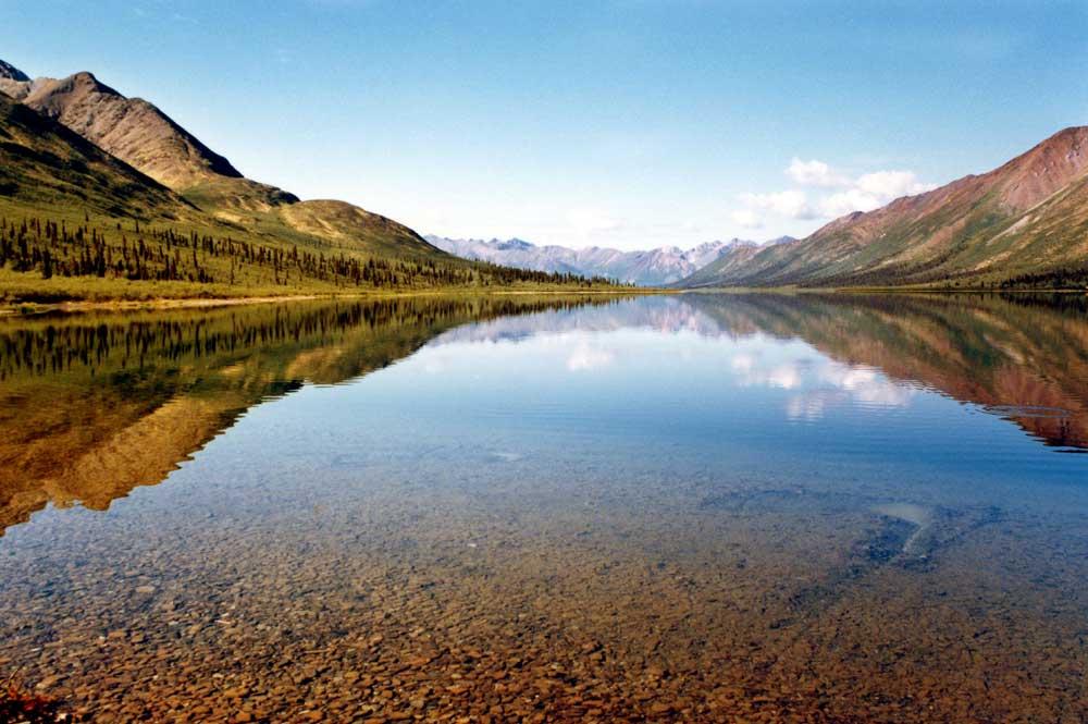 Bonnet Plume Lake