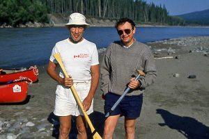 Trudeau and Johnson